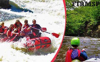 Litický oblouk - lehký rafting s instruktorem. Sjezd Divoké Orlice 3.5.2014