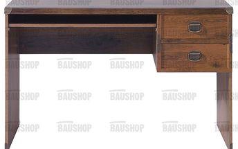 Indiana psací stůl jbiu2s dub sutter