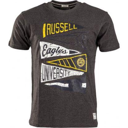 Pánské tričko russell athletic crew neck tee flag