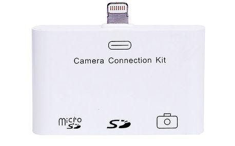 Čtečka paměťových karet 3 v 1 pro iPad MINI a iPad 4