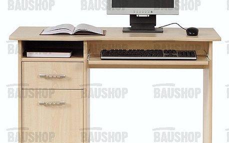 Psací stůl TIP TOP TBIU 1D1S/100 je moderní psací stůl s praktickou skříňkou