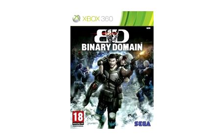 Sega XBox 360 hra Binary Domain KOX20260