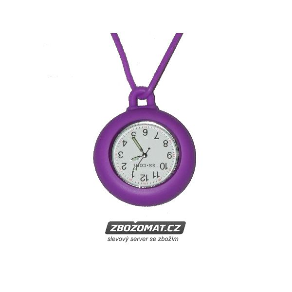 Silikonové kapesní hodinky