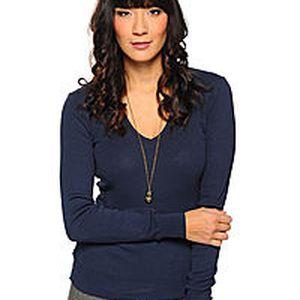 Benetton módní dámský slim fit svetr