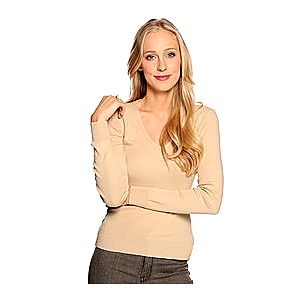 Benetton pěkný barevný dámský slim fit svetr