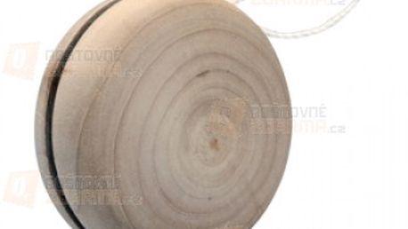 Dřevěné jo-jo s bílou šňůrkou a poštovné ZDARMA s dodáním do 3 dnů! - 13708404