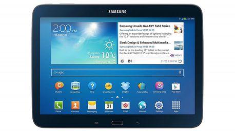 Tenký a elegantní tablet Samsung Galaxy Tab3 10.1 16GB 3G P5200 černý