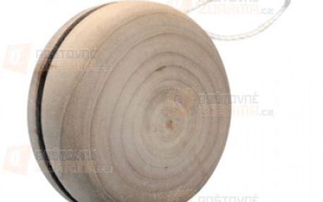 Dřevěné jo-jo s bílou šňůrkou a poštovné ZDARMA s dodáním do 3 dnů! - 19008404