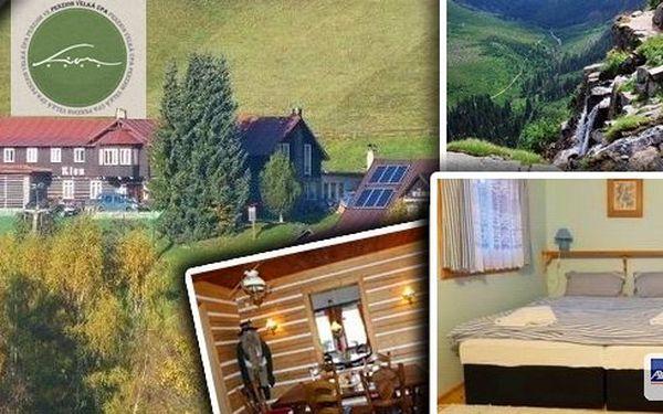 Užijte si báječnou dovolenou v Krkonoších - pobyt na 4 dny pro 2 osoby v penzionu Lion s polopenzí, kulečníkem a sportovním vyžitím
