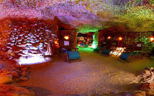 Privátní pobyt v Solné Jeskyni až pro 5 lidí