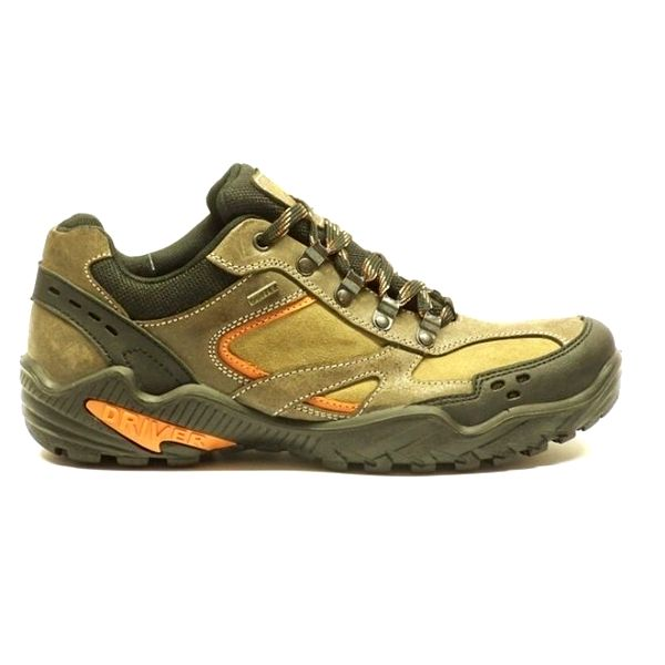 Pánské kožené béžové boty Numero Uno