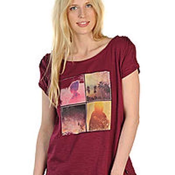 Tom Tailor - ležérní dámské tričko s potiskem na přední straně