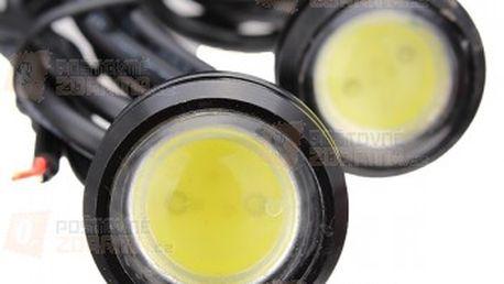 LED světla pro denní svícení (eagle eye) - 2 kusy, 3 barvy světla a poštovné ZDARMA! - 11309474
