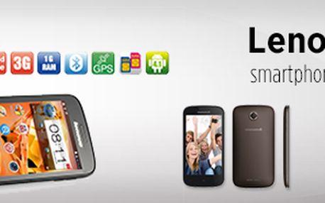 Stylový a výkonný smartphone Lenovo A760