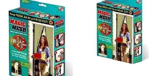VYPRODEJ ! Magnetická dveřní síť proti hmyzu vč. poštovného za krásnou vánoční cenu 119 Kč!