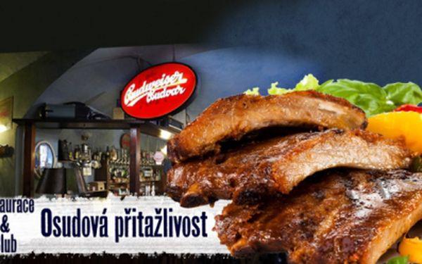 Neodolatelná nabídka pro opravdové gurmány! 500g VEPŘOVÝCH ŽEBÍREK s KŘENEM, HOŘČICÍ a PEČIVEM za pouhých 116 Kč! Přijďte si pochutnat na pořádné porci do restaurace OSUDOVÁ PŘITAŽLIVOST na Praze 3!