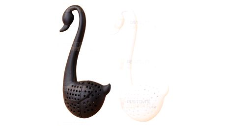 Sítko na čaj ve tvaru labutě a poštovné ZDARMA! - 12806471