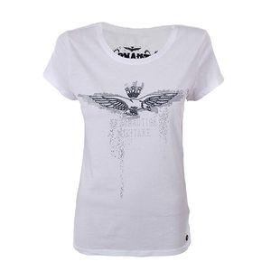 Dámské bílé tričko s motivem orla Aeronautica Militare