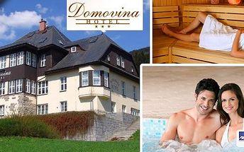 Relaxačně zážitková dovolená v Krkonoších - 3 dny pro dva se snídaněmi, wellcome drinkem, využitím hotelového Spa& relax s vířivkou a finskou saunou, zapůjčenímnordic walking a další