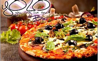 Pizza za 65 Kč v Yolobaru