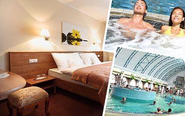 Relaxační pobyt v oblíbených termálech Velký Meder pro DVA na 4 a více dní