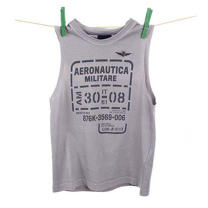 Dětské šedé tílko Aeronautica Militare