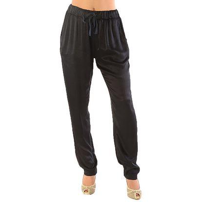 Dámské tmavé kalhoty Silvana Cirri