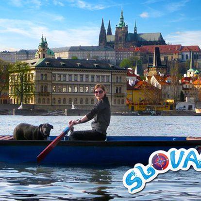 Pronájem loďky na Vltavě