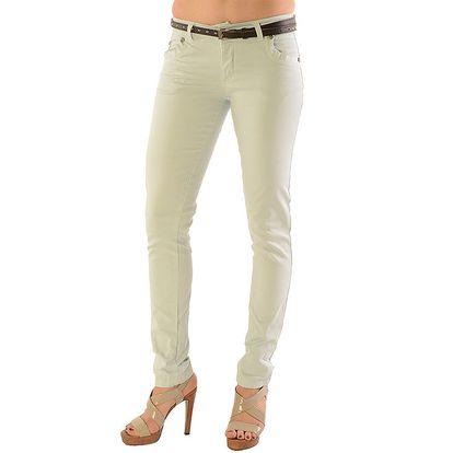 Dámské bílé kalhoty Silvana Cirri