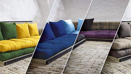 Designové variabilní futonové sofa Karup Chico