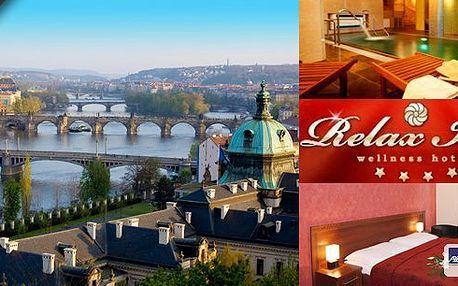 Hotel roku 2013 Spa & Wellness regionální vítěz Praha 9!! 3 dny pro dva v luxusním hotelu Relax Inn**** s vydatnými snídaněmi a slevami na wellness!! Moderní hotel s kvalitním wellness centrem!!