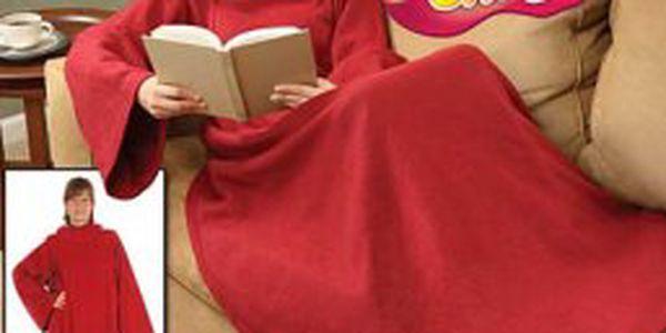Zahřejte se s naší TV dekou Snuggie a nedejte zimě šanci! Super cena 449 Kč!