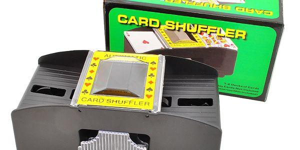 Míchačka na karty Vám ušetří spoustu práce