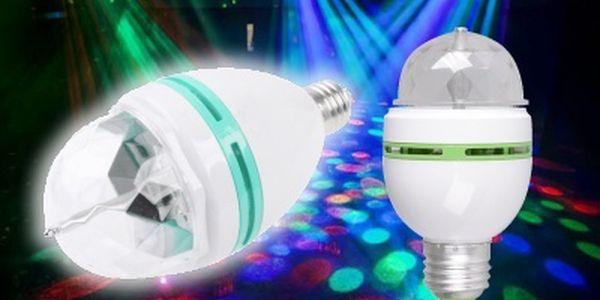 Disco žárovka, která nezkazí žádnou zábavu. Udělejte si doma vlastní párty