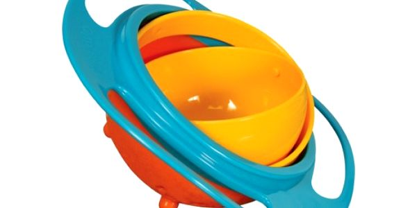 Nevysypatelná miska pro děti Gyro Bowl