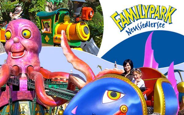 Autobusem do rakouského Family parku za 550 Kč! Zábava pro celou rodinu!