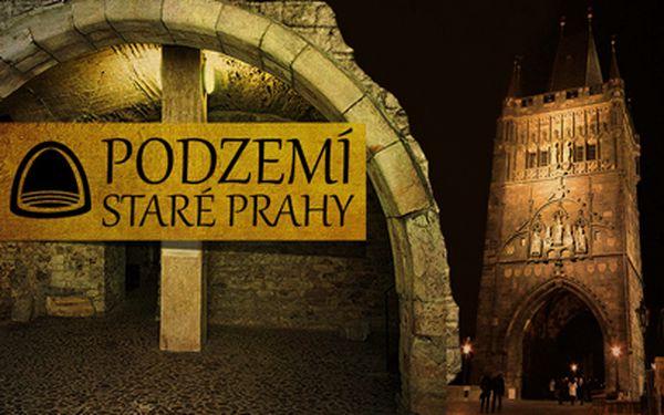 Pražské legendy a tajemné podzemí za 235 Kč!