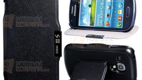 Ochranné pouzdro pro Samsung Galaxy S3 Mini - černá barva a poštovné ZDARMA! - 11707452