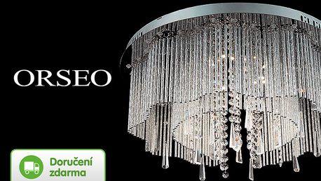 Skleněné LED lustry Orseo