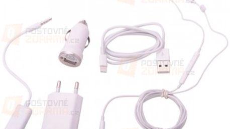5v1 nabíjecí sada s Apple 8-pin konektorem a poštovné ZDARMA! - 12009487