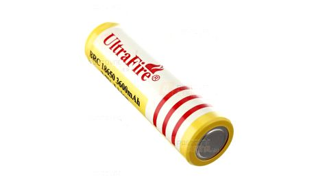 Nabíjecí Li-ion 18650 baterie 3600mAh - 1 kus a poštovné ZDARMA! - 16609491