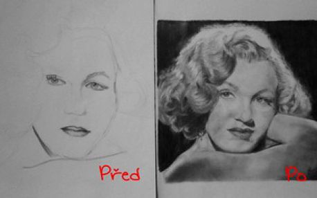 Dvoudenní kurz kreslení pravou mozkovou hemisférou - tužka 14.–15. června 2014, Praha