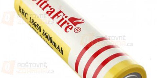 Nabíjecí Li-ion 18650 baterie 3600mAh - 1 kus a poštovné ZDARMA! - 15509491