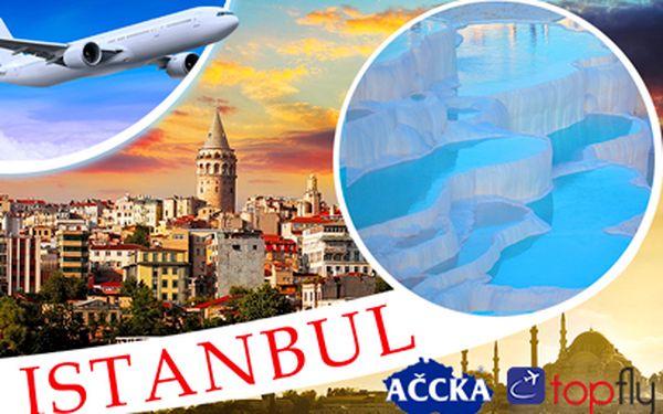 Letecky na Tureckou riviéru vč. Istanbulu za 9980 Kč! Zažijte krásný týden!
