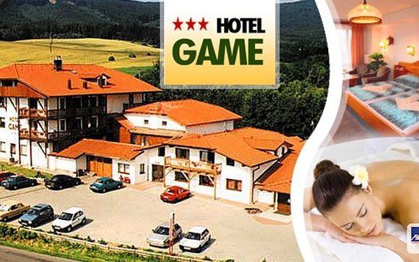 3 dny pro dva v půvabném Chodsku v hotelu Game*** s polopenzí, welcome drinkem, domácí solnou jeskyní a masáží!! Cyklostezky, pěší turistika, koupání, sportovní aktivity, poznávání tradic - to je dovolená na Chodsku.