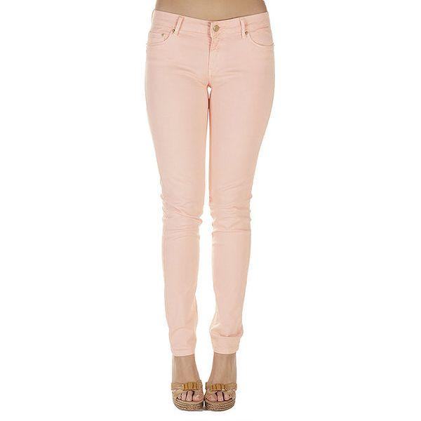 Dámské lososové kalhoty Lois