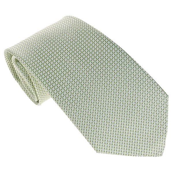 Pánská zelená kravata se vzorem Marsanpiel