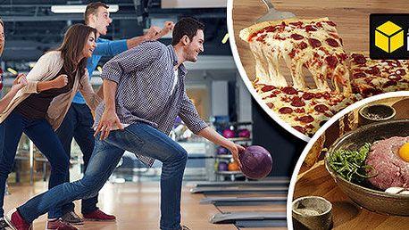 Bowling a dobré jídlo v Bowling Kostka
