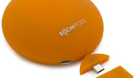 Přenosná nabíječka na telefon Powerpod, oranžová