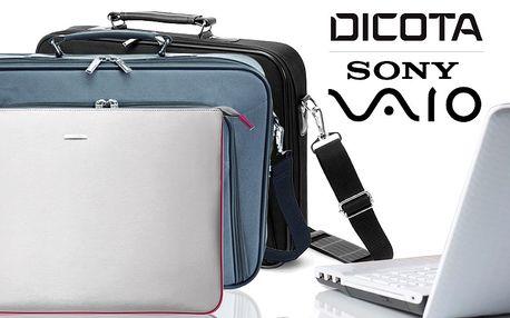Značkové tašky na notebook Dicota a Sony